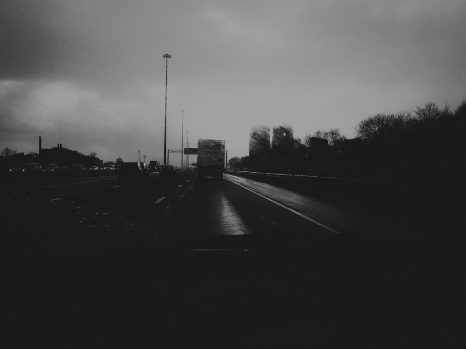 Somewhere on the 401, Toronto, Canada. HTC 8X.